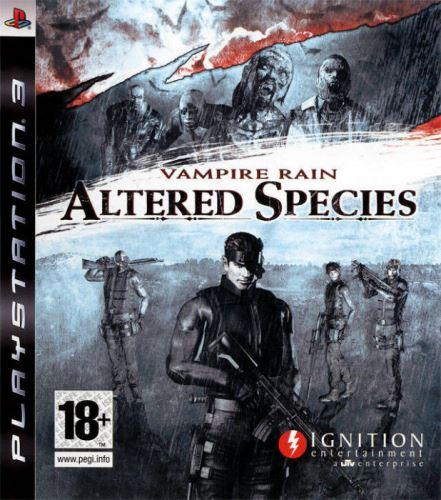 PS3 Vampire Rain Altered Species