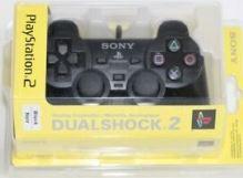 [PS2] Drôtový Ovládač Sony Dualshock - čierný (nový)