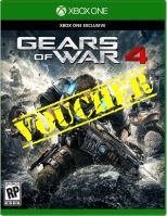 Voucher Xbox One Gears Of War 4