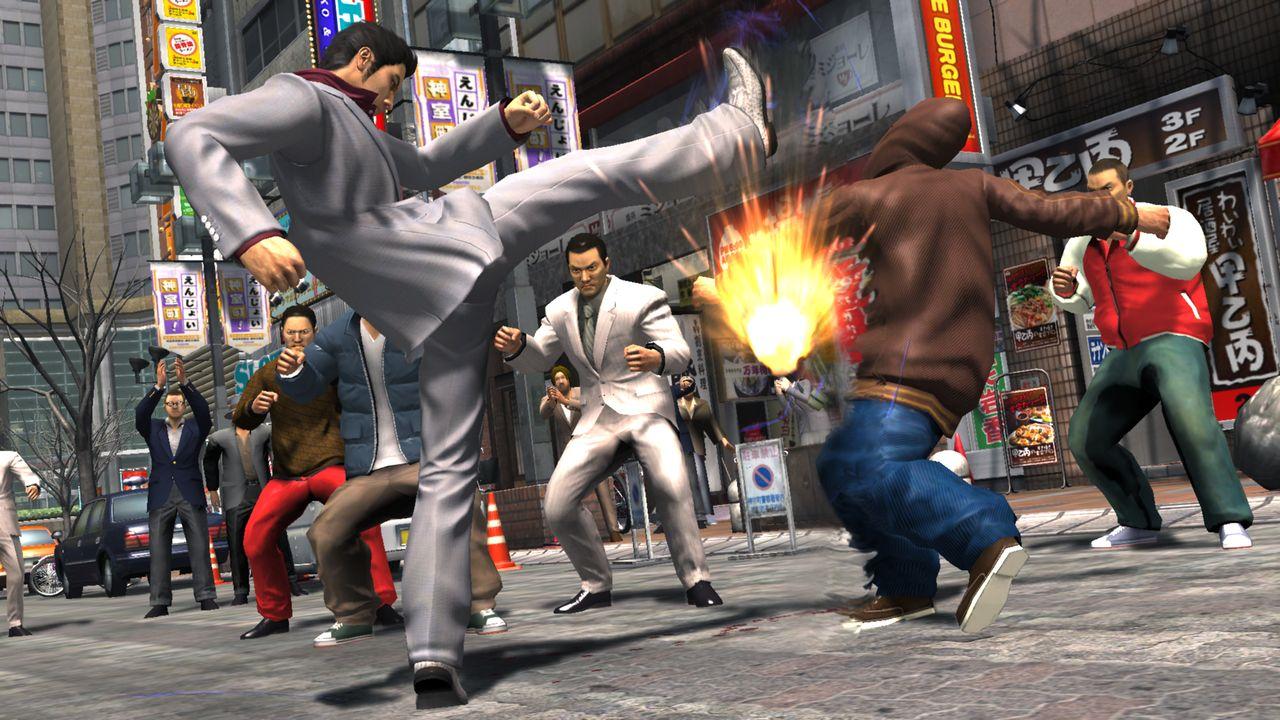 PS2 Yakuza