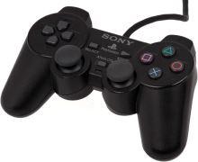 [PS2] Drôtový Ovládač Sony Dualshock - čierny