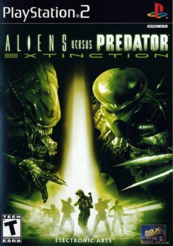 PS2 Aliens vs Predator Extinction