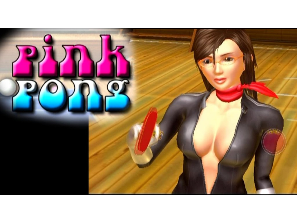 PS2 Pink Pong