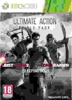 Xbox 360 Ultimate Action Triple Pack: Tomb Raider - Sleeping Dogs - Just Cause 2 (nová)