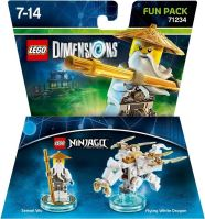 Lego Dimensions 71234 Fun Pack: Sensei Wu