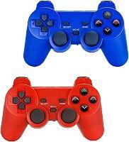[PS2] Bezdrátový Ovladač - modrý (nový)