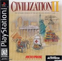 PSX PS1 Civilization 2
