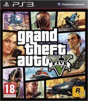 PS3 GTA 5 Grand Theft Auto V (nová)