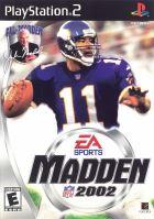 PS2 Madden NFL 02 2002