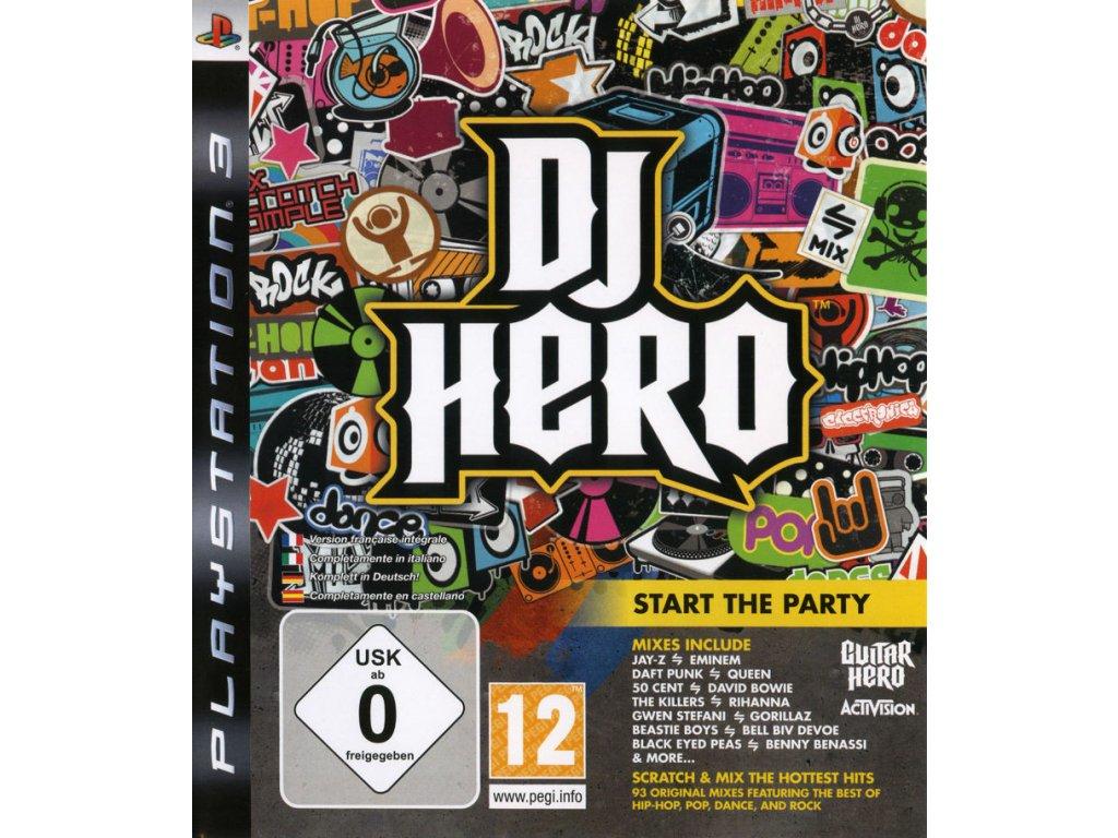 PS3 DJ Hero (iba hra)