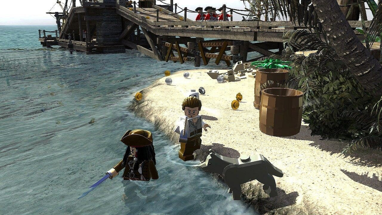 Nintendo Wii Lego Piráti z Karibiku, Pirates Of The Caribbean