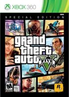 Xbox 360 GTA 5 Grand Theft Auto V - Special Edition