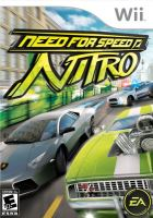 Nintendo Wii NFS Need For Speed Nitro