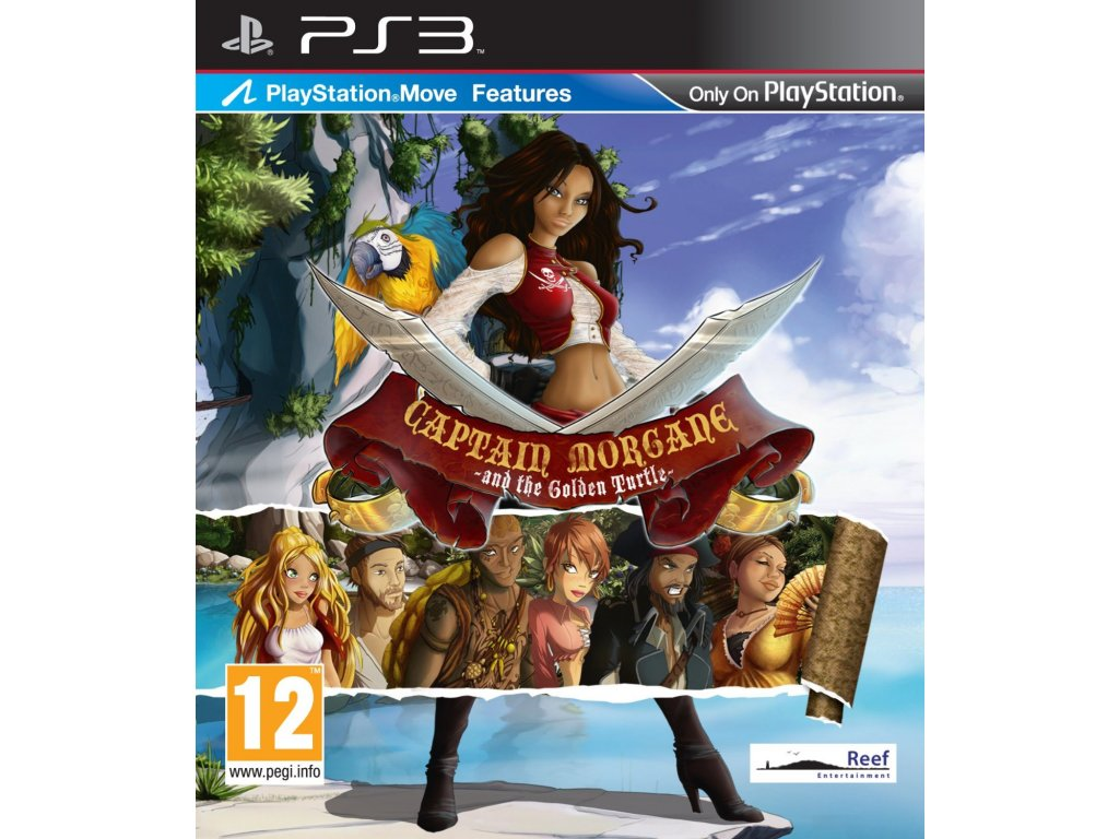 PS3 Captain Morgane and the Golden Turtle