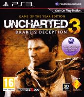 PS3 Uncharted 3 - Drakes Deception: GOTY (bez obalu)