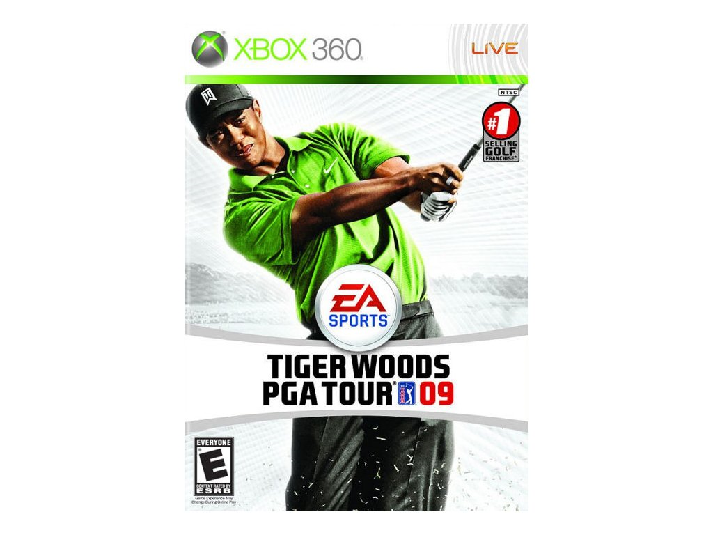 Xbox 360 Tiger Woods PGA Tour 09
