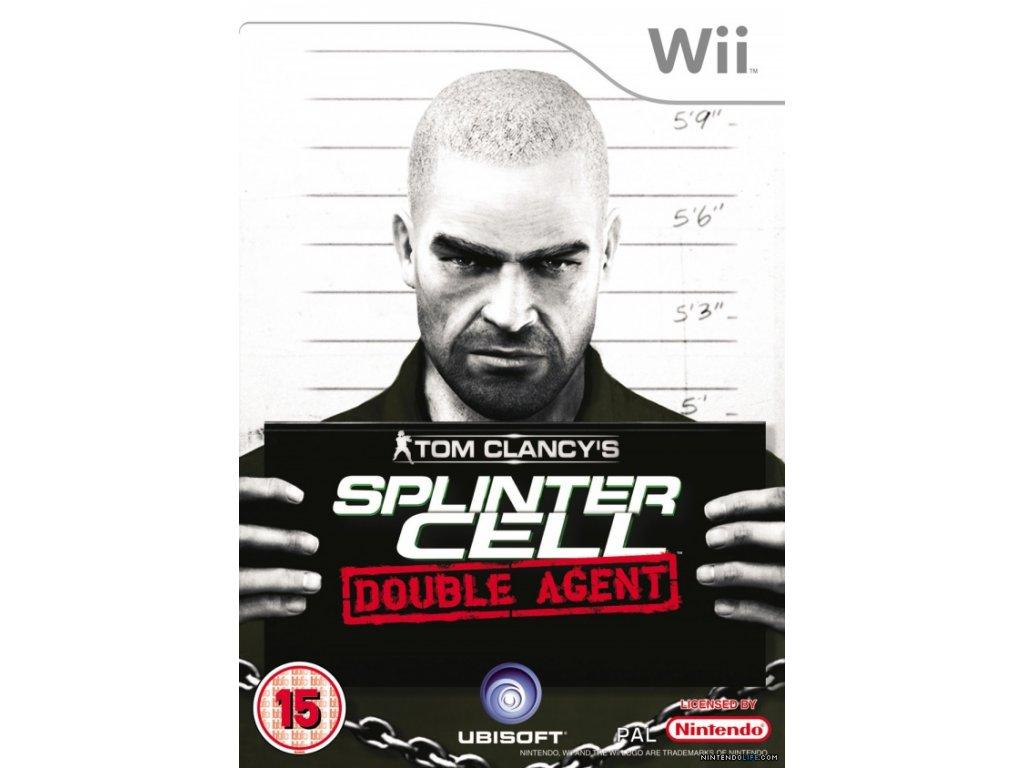 Nintendo Wii Tom Clancy'Splinter Cell Double Agent