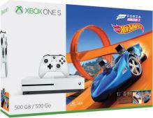 Xbox One S 500 GB (Plná verzia s DVD mechanikou) + Forza Horizon 3 Hot Wheels (nové)