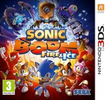 Nintendo 3DS Sonic Boom Fire & Ice (nová)