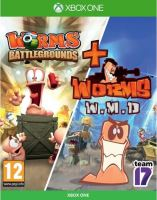 Xbox One Worms Battlegrounds + Worms WMD Double Pack (nová)