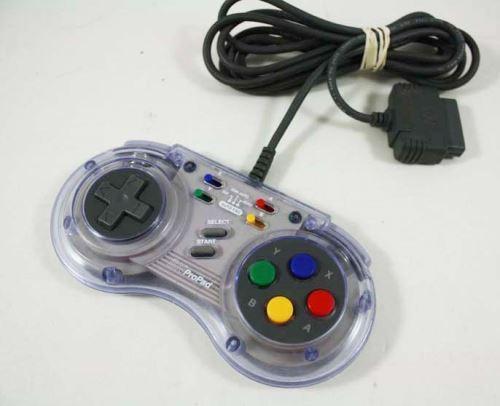 [Nintendo SNES] Drôtový Ovládač SN prepad