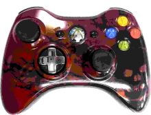 [Xbox 360] Bezdrôtový Ovládač Microsoft - Gears of War 3 Limited Edition