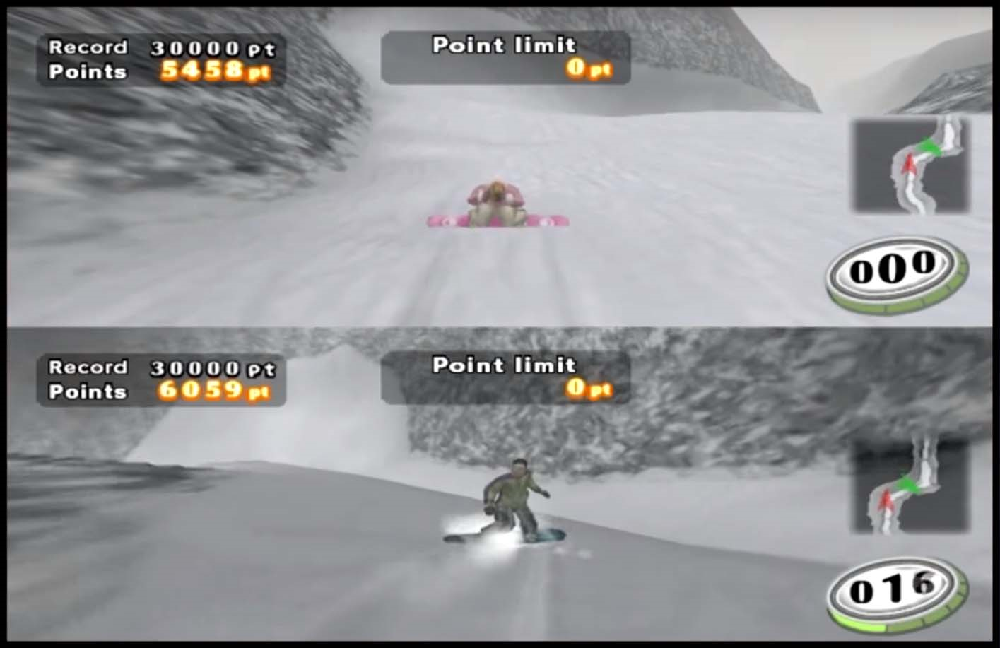 PS2 Snowboard Racer 2