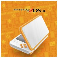 New Nintendo 2DS XL - žltobielej