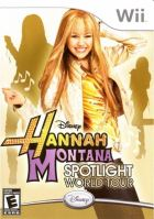 Nintendo Wii Hannah Montana Spotlight World Tour
