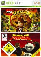 Xbox 360 Lego Indiana Jones: The Original Adventures + Kung Fu Panda