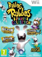 Nintendo Wii Rayman Raving Rabbids Party Collection