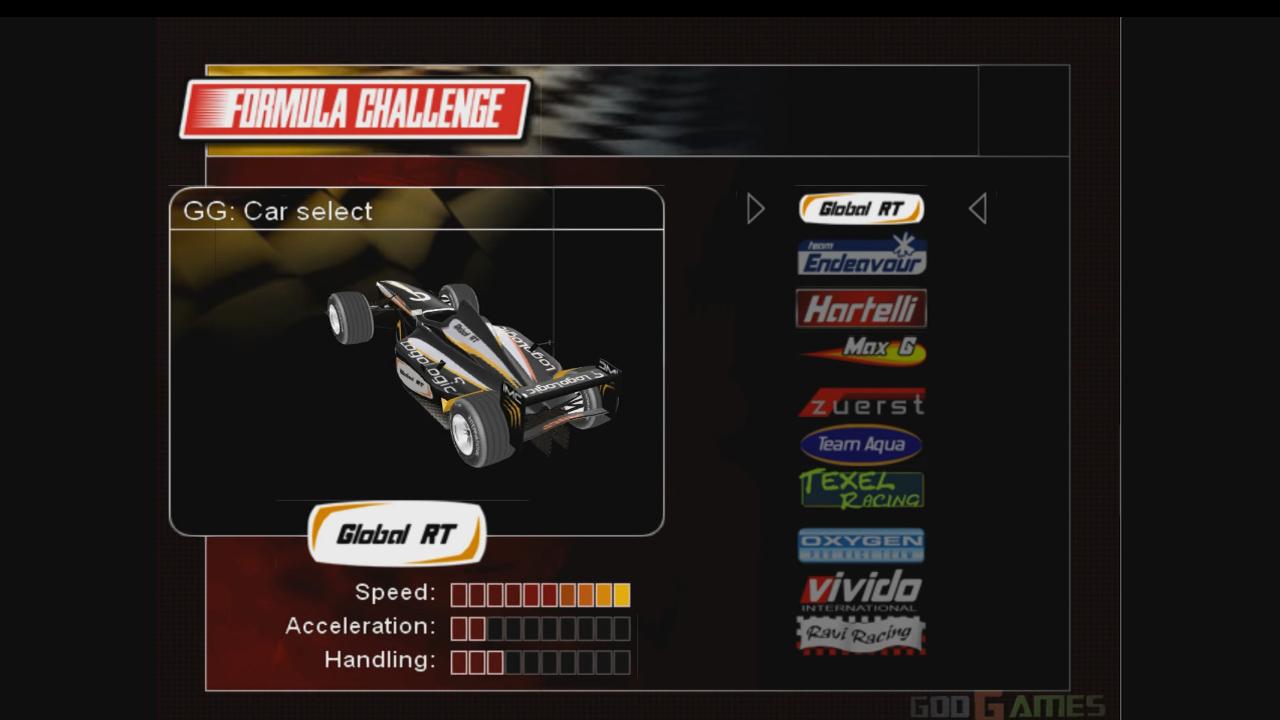PS2 Formula Challenge