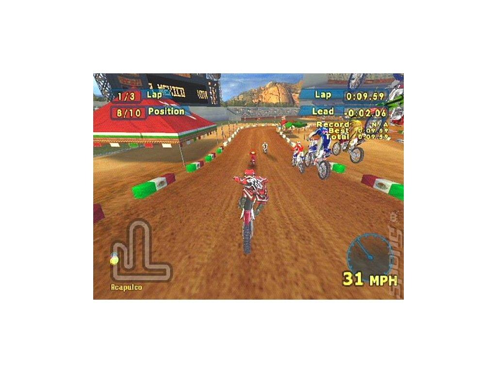 PS2 MX World Tour