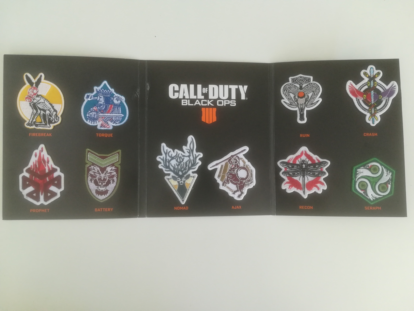 Call of Duty: Black Ops 4 - Special Edition Specialist Patches Set