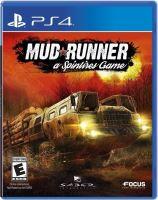 PS4 Mudrunner: a Spintires Game (nová)