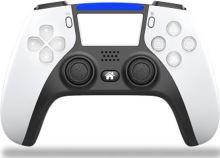 [PS4] Bezdrôtový Ovládač - biely (PS5 dizajn) (nový)