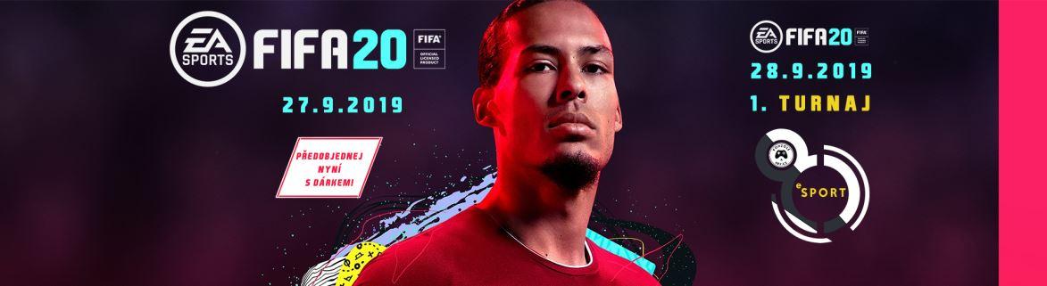 Turnaj FIFA 20 a predstavenie eSport haly