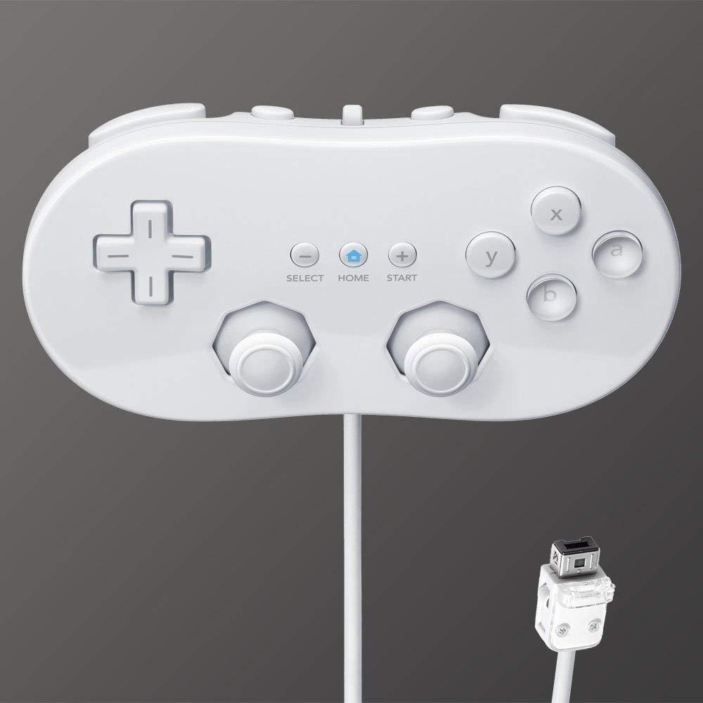 [Nintendo Wii] Ovládač Classic biely