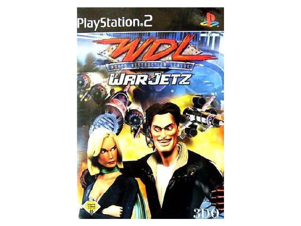 PS2 WDL World Destruction League: Warjetz