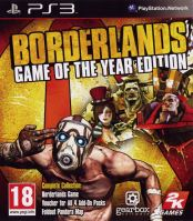 PS3 Borderlands Game of the Year Edition