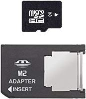 [PSP] pamäťová karta MicroSD s adaptérom 4GB