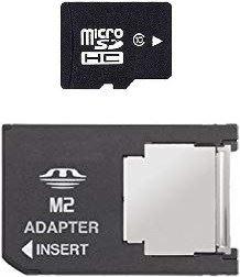 [PSP] pamäťová karta MicroSD s adaptérom 1GB