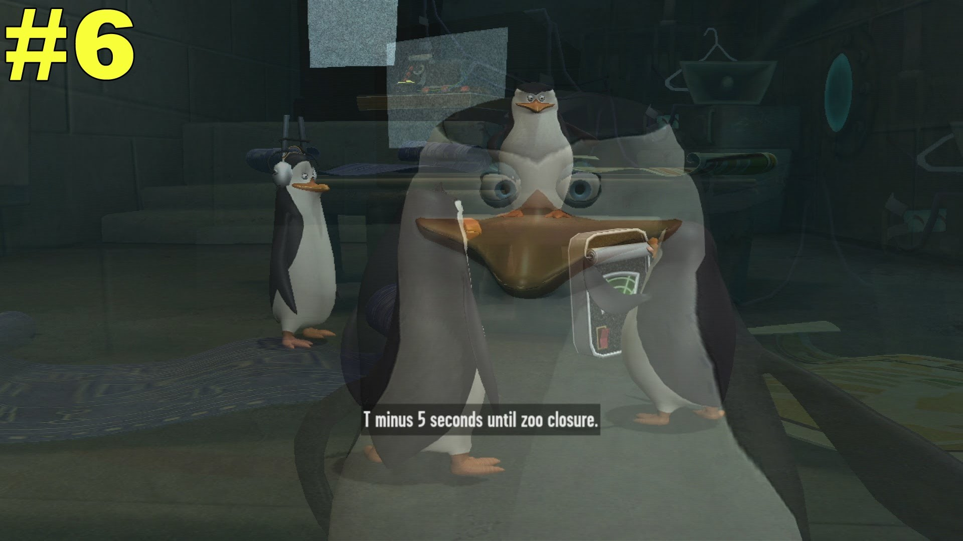 PS3 The Penguins Of Madagascar Dr. Blowhole Returns Again!