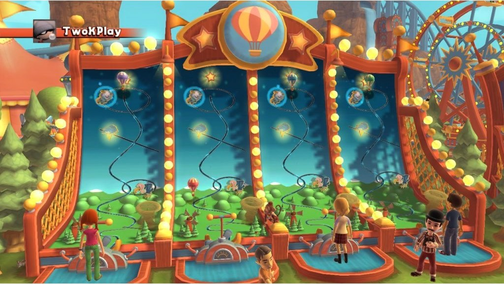 Xbox 360 Carnival Games In Action