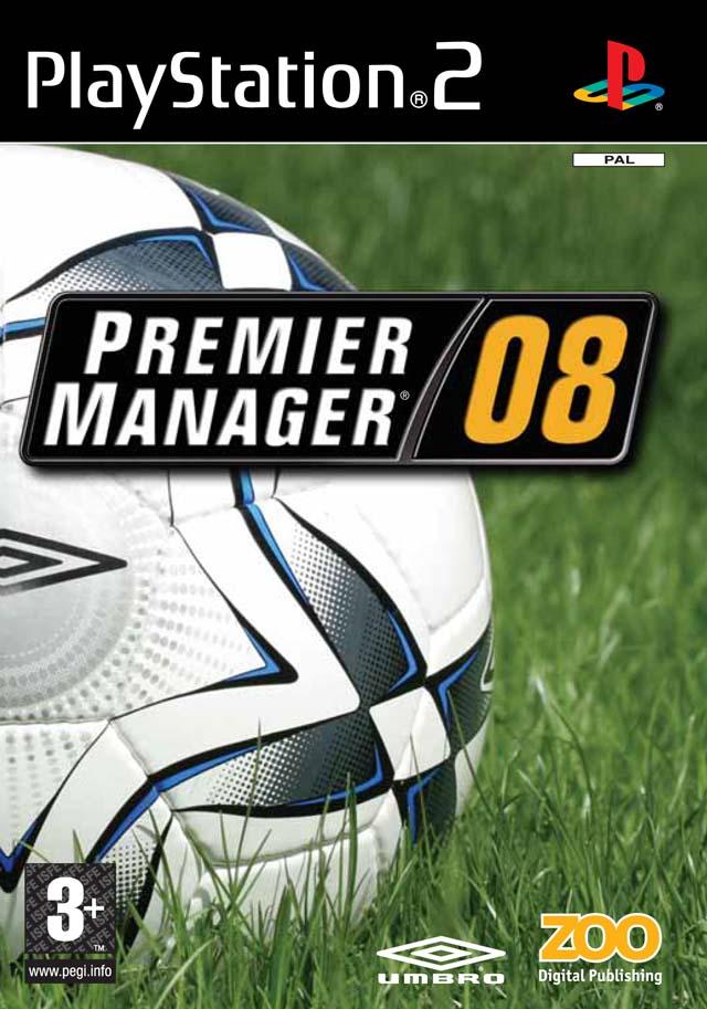 PS2 Premier Manager 08