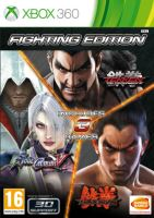 Xbox 360 Fighting Edition - Tekken Tag Tournament 2, Tekken 6, Soul Calibur 5 (nová)