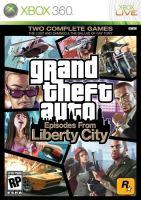 Xbox 360 GTA 4 Grand Theft Auto IV Episodes From Liberty City (bez obalu)