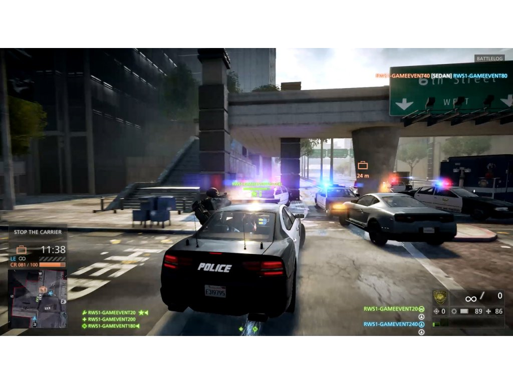 Xbox 360 Battlefield Hardline (CZ)