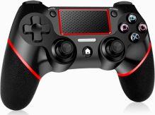 [PS4] Bezdrôtový Ovládač - červeno / čierny (nový)