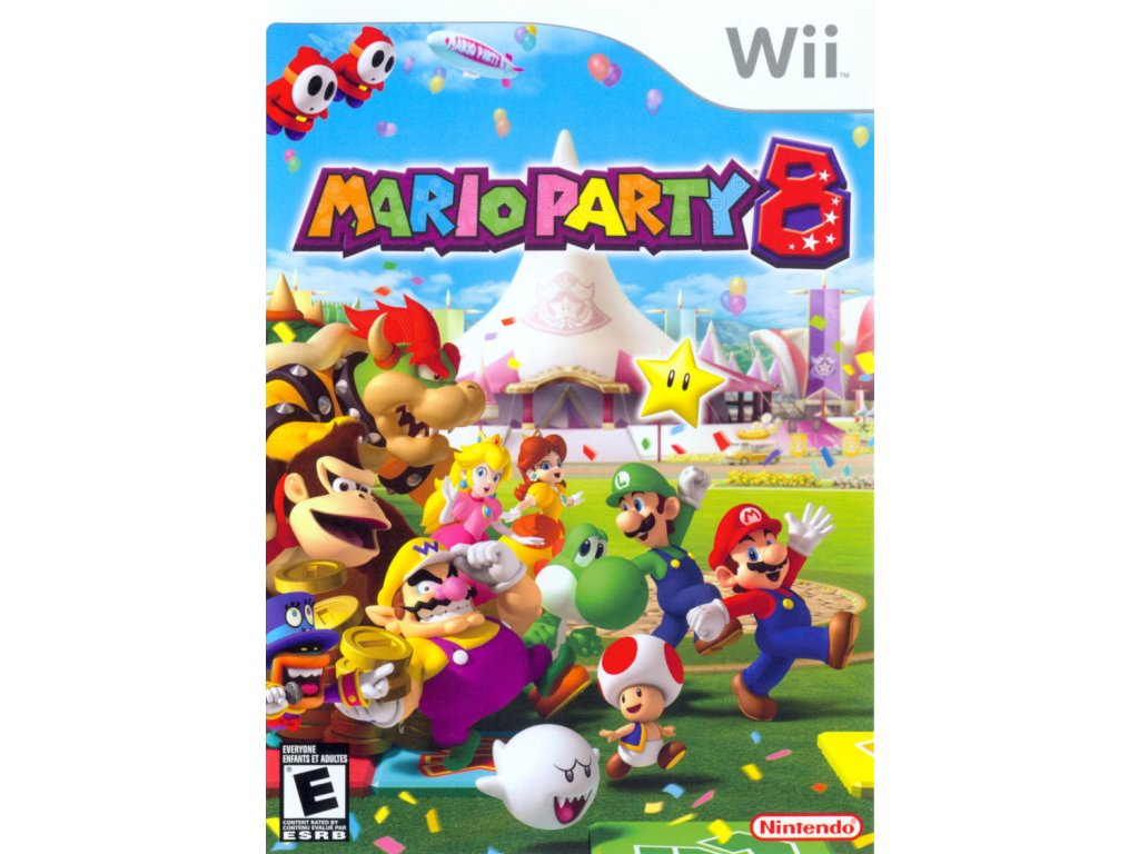 Nintendo Wii Mario Party 8